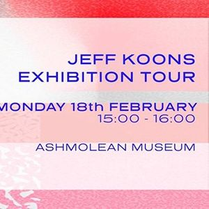 CCAW Jeff Koons Exhibition Tour