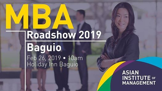 The MBA Roadshow AIM Goes To Baguio