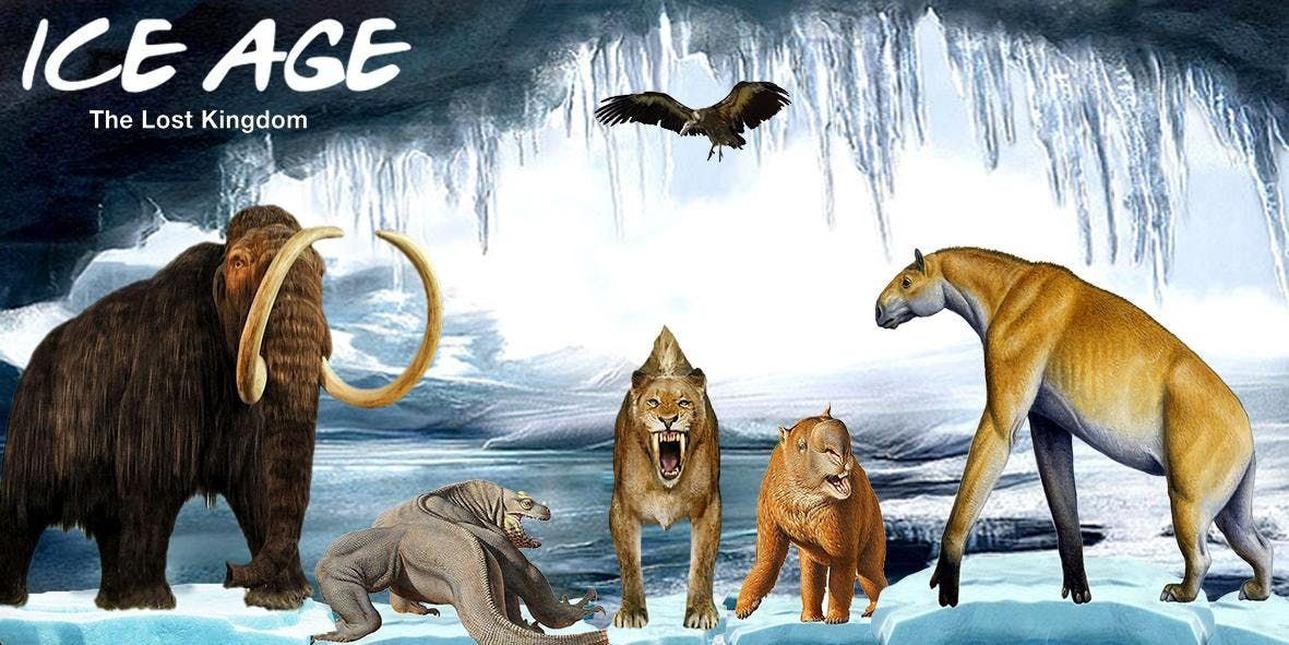 Ice Age - The Lost Kingdom (15th April 2019 - Birmingham)