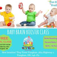 Pint-Sized Prodigy Introductory Baby Class