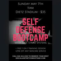 Exclusive 1 Day Self Defense Bootcamp with OneStrike Systems