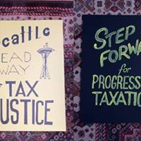 Tax Justice Victory Party