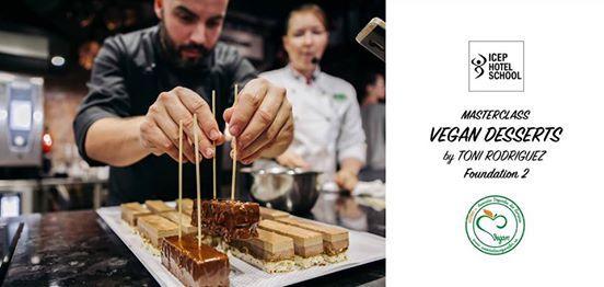Vegan Pastry MasterClass by Toni Rodriguez - Foundation 2