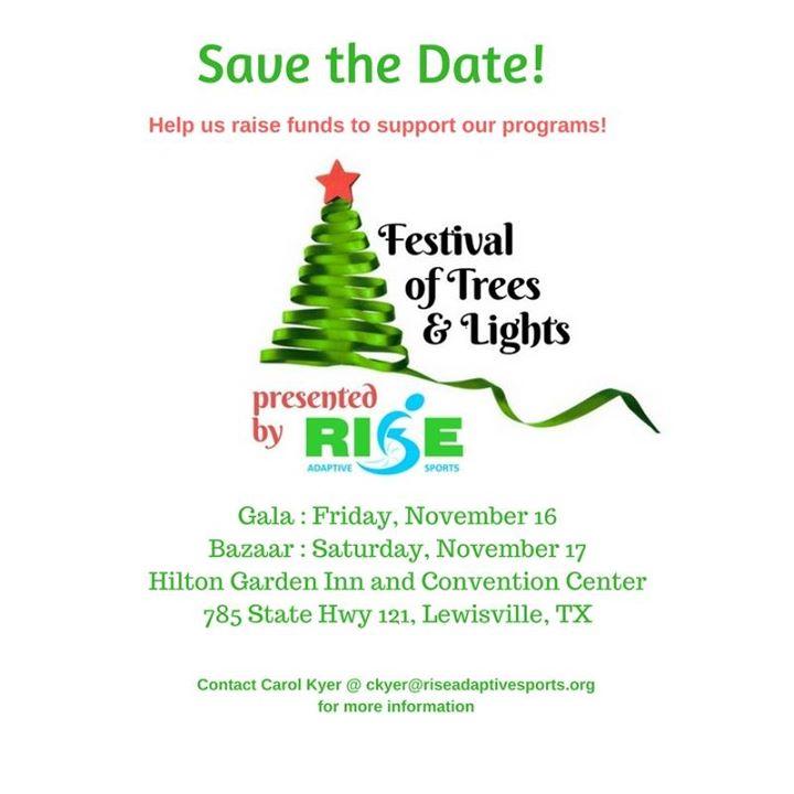 Festival of Trees & Lights at Hilton Garden Inn Dallas/Lewisville ...