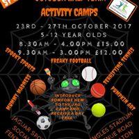 October Half Term Activity Camps