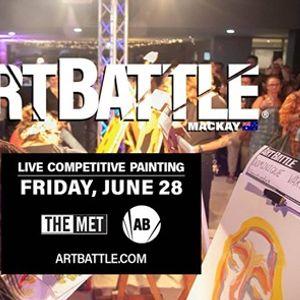 Art Battle Mackay - 28 June 2019