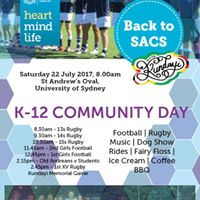Back to SACS Community Day