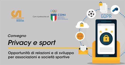 Convegno Privacy e Sport