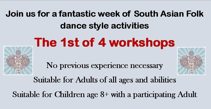 1st South Asian Folk Dance Session - Book now - Free Event