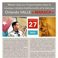 Master Class avec Maraca