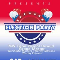 MW Tisan Rasool Dawud Grand Master Election Party