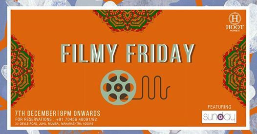 Filmy Friday Ft. Shaun at Hoot