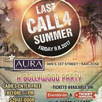 LAST CALL 4 Summer (Bollywood Party) AURA Nightclub