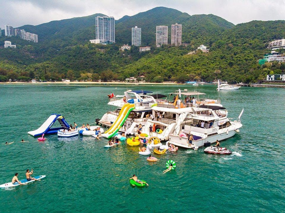 Summer Junk Boat Party ft. Unique Asian Alcohol