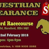 Equestrian Clearance Sale - Hereford