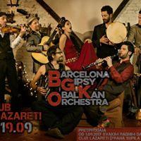 Barcelona Gipsy balKan Orchestra at Club Lazareti in Dubrovnik