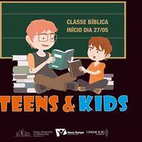 Classes Bblicas Teens e Kids