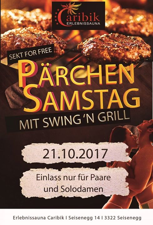 Pärchensamstag ☆ at Erlebnissauna Caribik Swingerclub