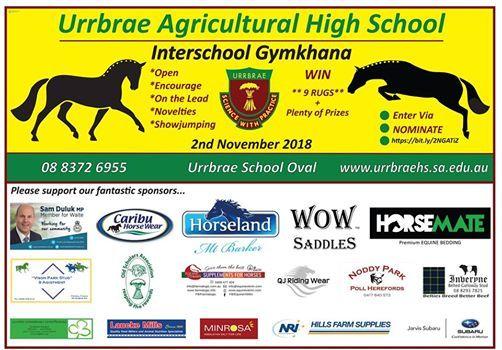Urrbrae AHS Interschool Gymkhana