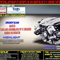 One Day Workshop On Dismantling And Assembling Of IC Engines