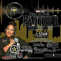 Black Panther Movie Premier Mixer