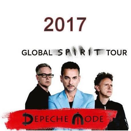 Depeche Mode - Global Spirit Tour Dublin Before & After Party