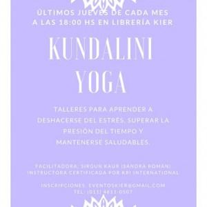 Talleres mensuales de Kundalini Yoga