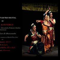 Bharatanatyam Trio Recital by Aadya- A Synergy