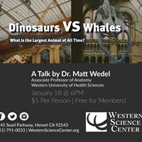 Lecture Series Dr. Matt Wedel