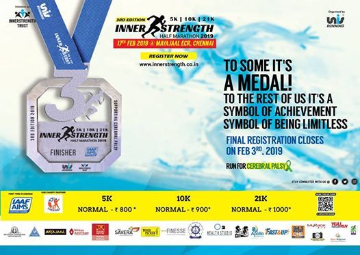 UNIS Inner Strength Half Marathon 2019
