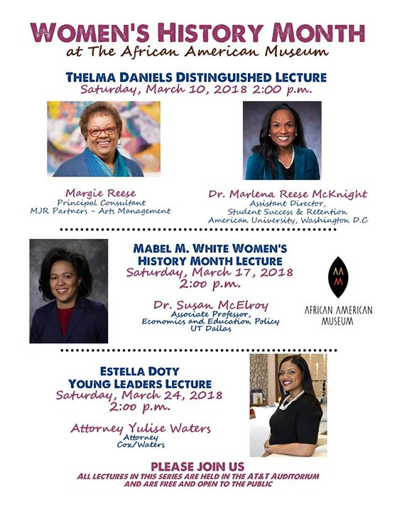 Thelma Daniels Distinguished Lecture