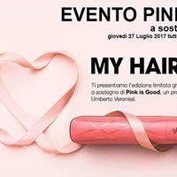 Evento Pink Blush - Contrasto Hair e Ghd insieme per la salute