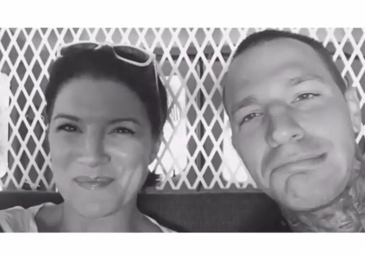 Gina Carano And Kevin Ross