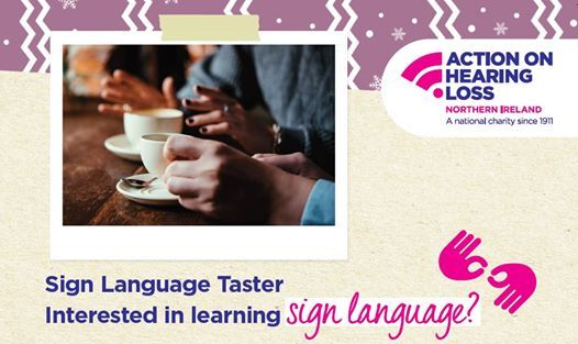 Christmas Sign Language taster