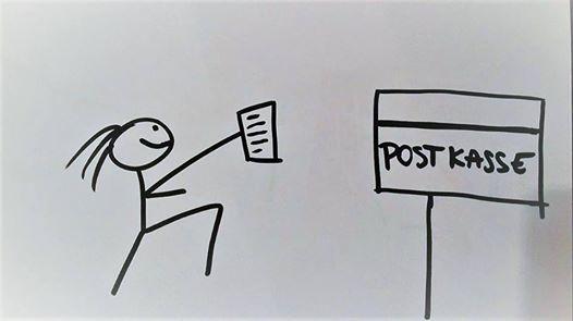 Omdeling af invitationer og socialt hygge