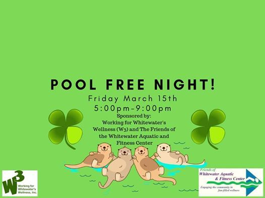 March Free Pool Party