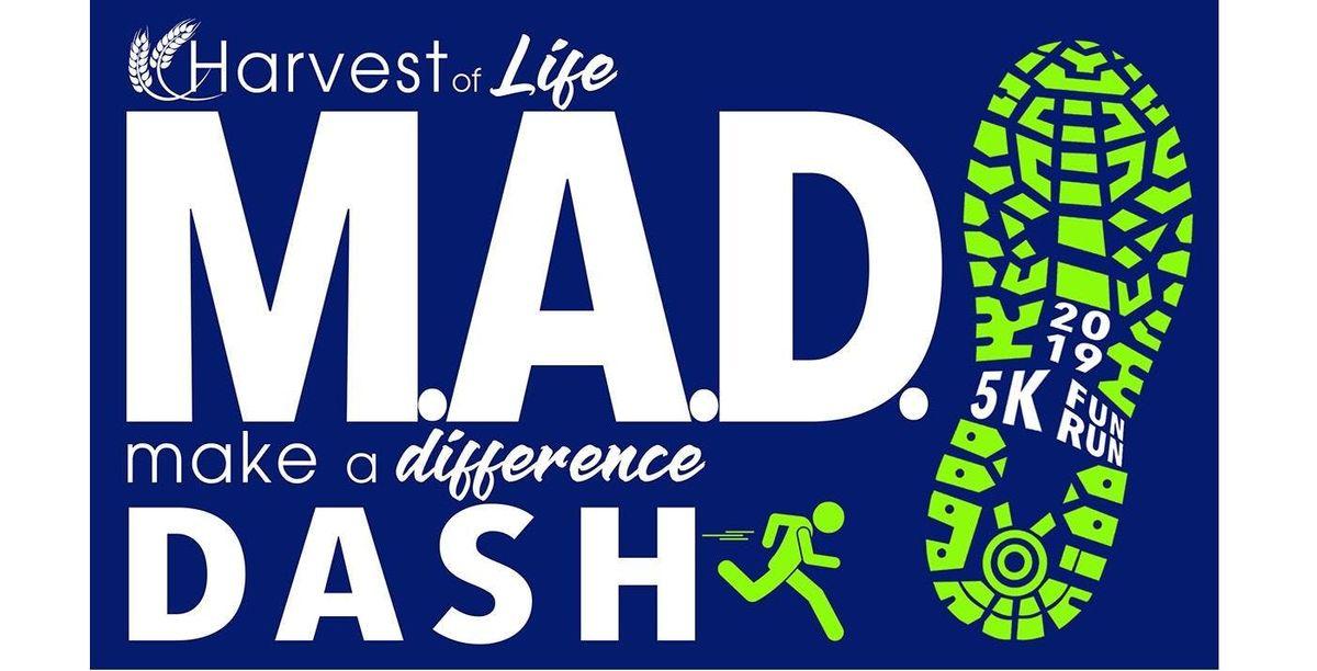 M.A.D. Dash Fun Run & 5K Races Pancake Breakfast and Silent Auction