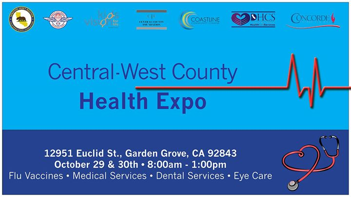 Central West OC Health Expo at Concorde Career College Garden