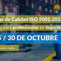 Normativas de Calidad ISO 90012015 - Seguridad e Higiene