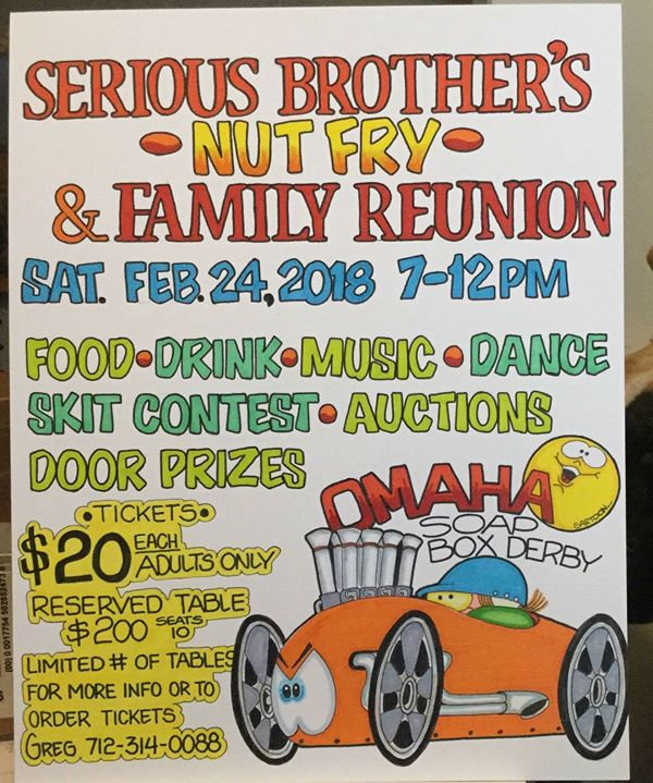 $20 door prizes for family reunion