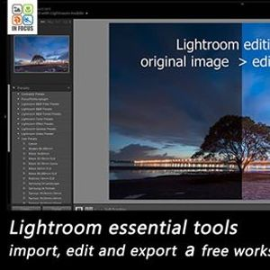Adobe Lightroom essential tools by Mohamed Hozayn