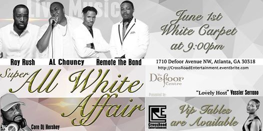 Super All White Affair