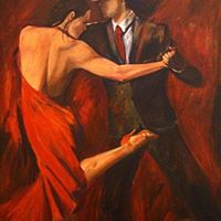 Special Milonga with Painting Exhibition at Abrazame y Baila