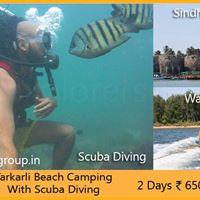 Tarkarli Beach Camping &amp Scuba Diving 11 to 12.03.17 by Explorer