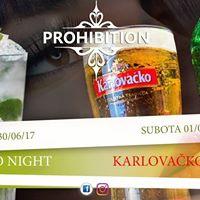 Mojito night III Karlovako party at Prohibition bar