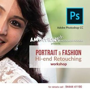 High end Retouching for Portrait and Fashion workshop