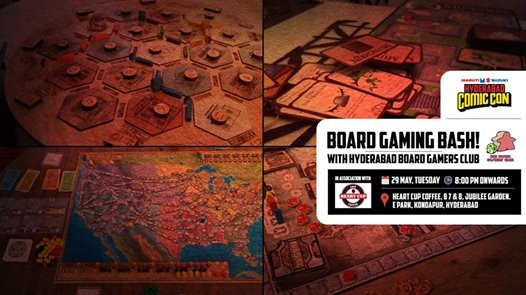 Board Gaming Bash Hyderabad