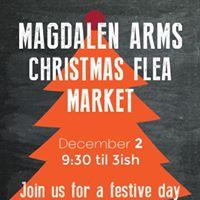 Magdalen Arms Christmas Flea Market