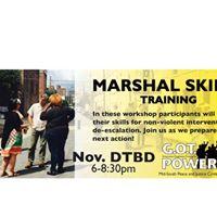 Marshal Skills Training