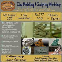 Clay Modelling &amp Sculpting Workshop